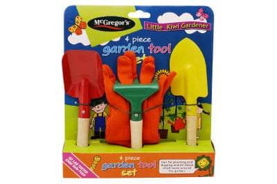 Product Review McGregors 4pc Set for Children Giantpumpkins NZ
