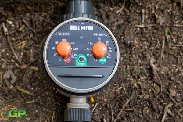 Holman water timer