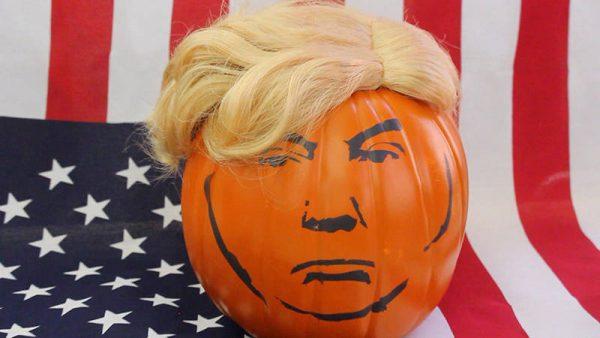 Trumpkin Pumpkin 4