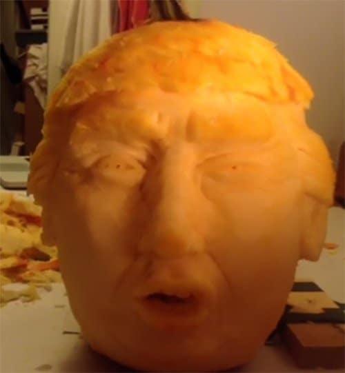 Trumpkin Pumpkin 2
