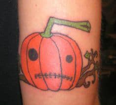 Monday Pumpkin Funday -10 Pumpkin Tattoos